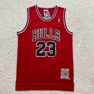 Michael Jordan Chicago Bulls NBA Basketball Jersey